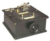 Typical 1920's Crystal Set Receiver
