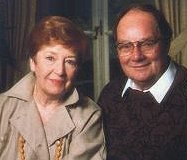 Jean Metcalfe  and Cliff Michelmore