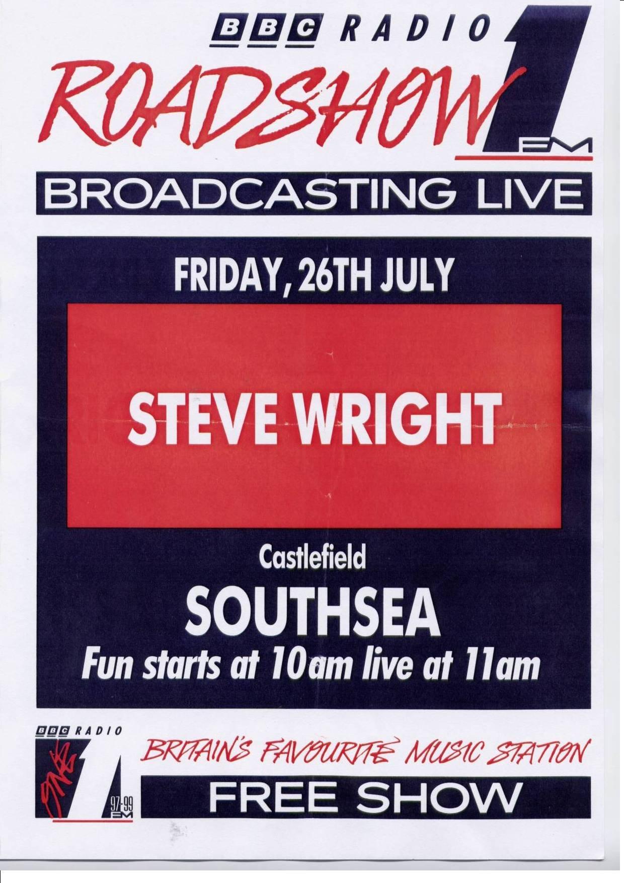 Radio Rewind - Radio 1 Shows - Roadshow; the later years