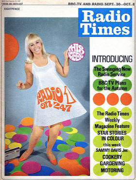 Radio Times Cover Saturday 30th September 1967