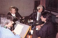 Richard Skinner, Green, Limahl and Gary Davies 1984