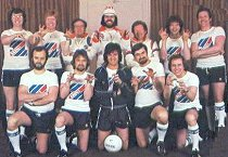 Radio 1 Football team, 1979